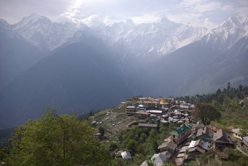 View over Kalpa.