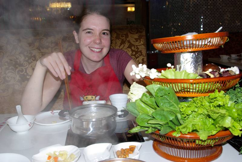 Hotpot in Xian.