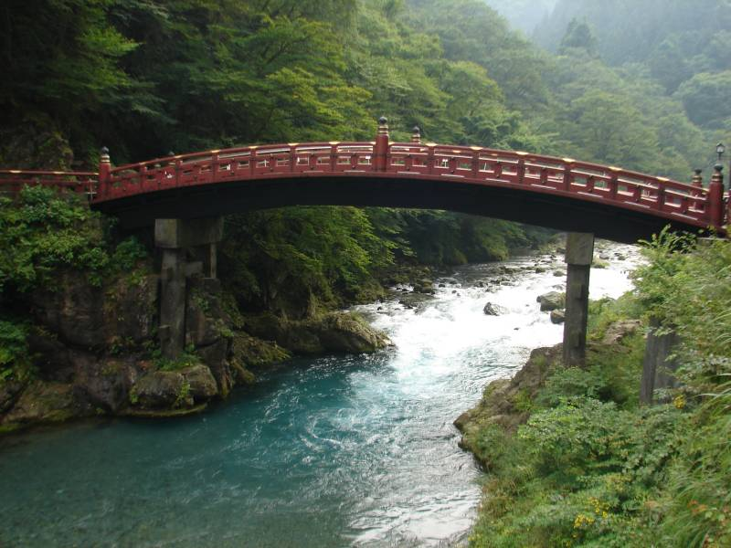 Bridge in Nikko.