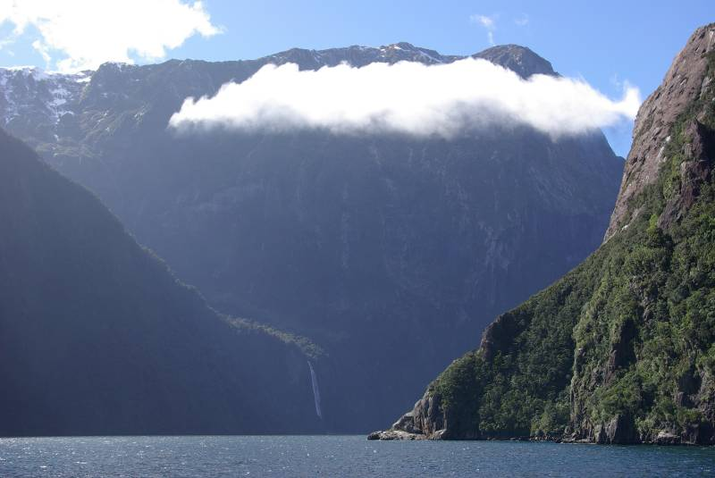 View over Milford Sound.