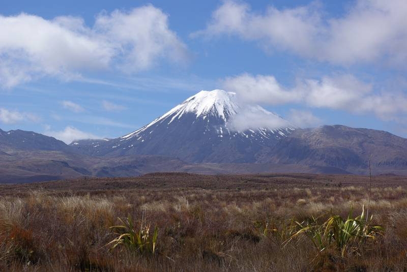 Tongariro national park on the North Island.