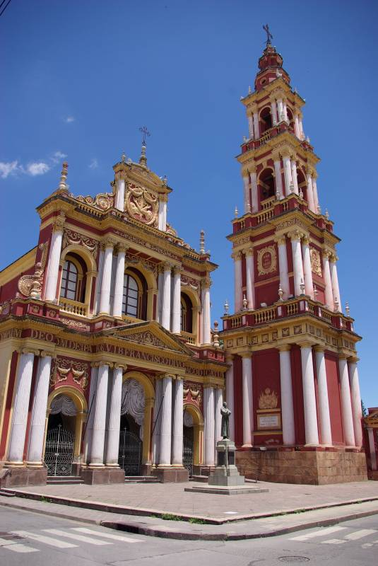 Iglesia San Francisco in Salta.