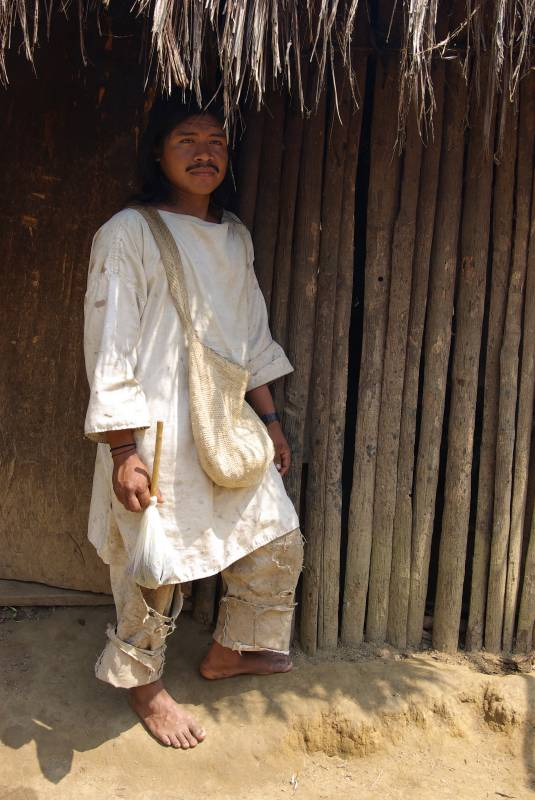 Kogi man in the Mutanyi village.