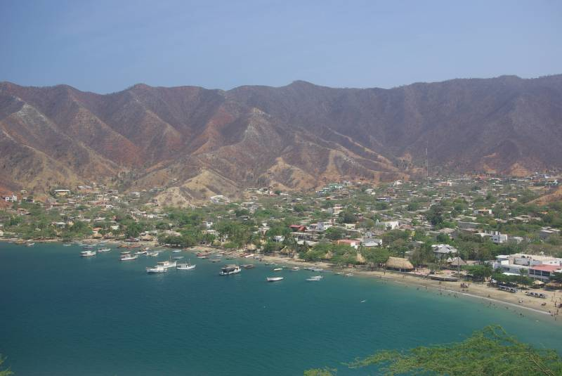 View over Taganga.