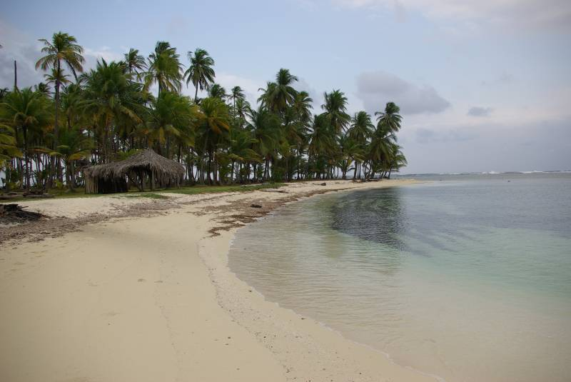 BBQ island, San Blas.